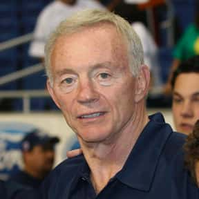 Jerry Jones is listed (or ranked) 1 on the list Undeserving Members of the Pro Football Hall of Fame