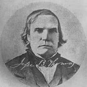 Jesse B. Thomas is listed (or ranked) 1 on the list All U.S. Senators from Illinois