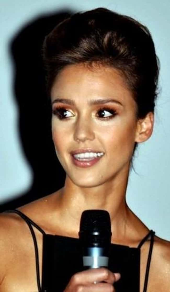 Jessica Alba is listed (or ranked) 72 on the list The Most Captivating Celebrity Eyes (Women)