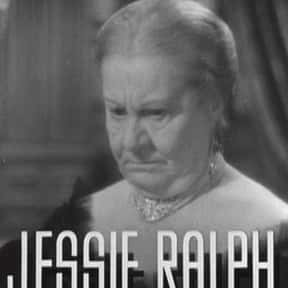 Jessie Ralph is listed (or ranked) 18 on the list Famous People Buried in Massachusetts