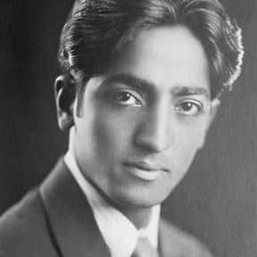 Jiddu Krishnamurti is listed (or ranked) 8 on the list Famous Writers from India