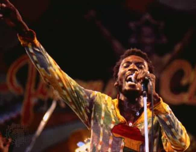 Jimmy Cliff is listed (or ranked) 3 on the list Famous People You Didn't Know Were Rastafarian