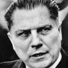 Jimmy Hoffa is listed (or ranked) 21 on the list Who Is The Most Famous Jimmy In The World?