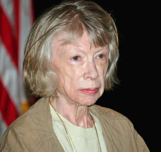 Joan Didion is listed (or ranked) 2 on the list Famous Female Memoirists