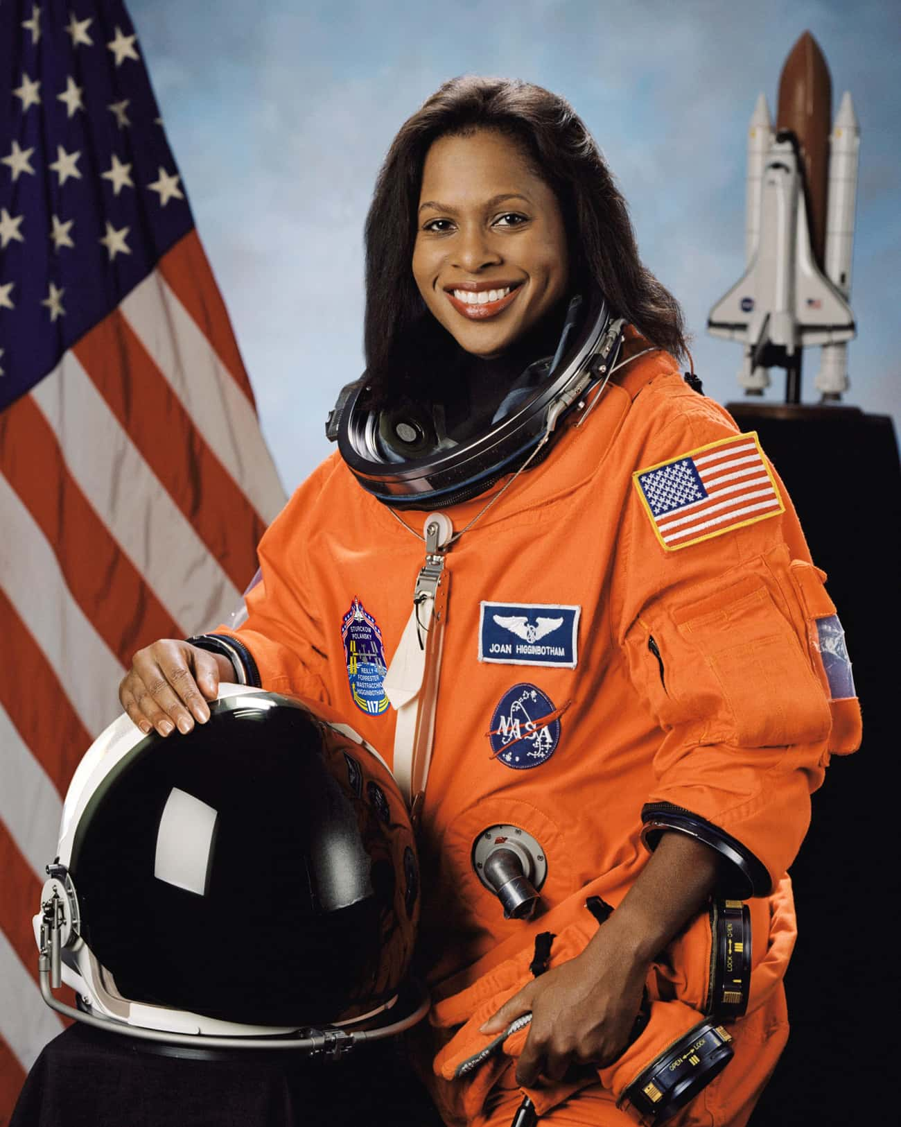 Joan Higginbotham is listed (or ranked) 2 on the list The Hottest Lady Astronauts In NASA History