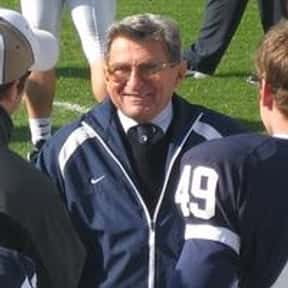 Joe Paterno is listed (or ranked) 4 on the list List of Famous Football Coaches