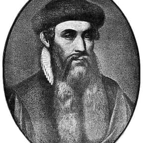 Johannes Gutenberg is listed (or ranked) 24 on the list The Greatest Minds of All Time