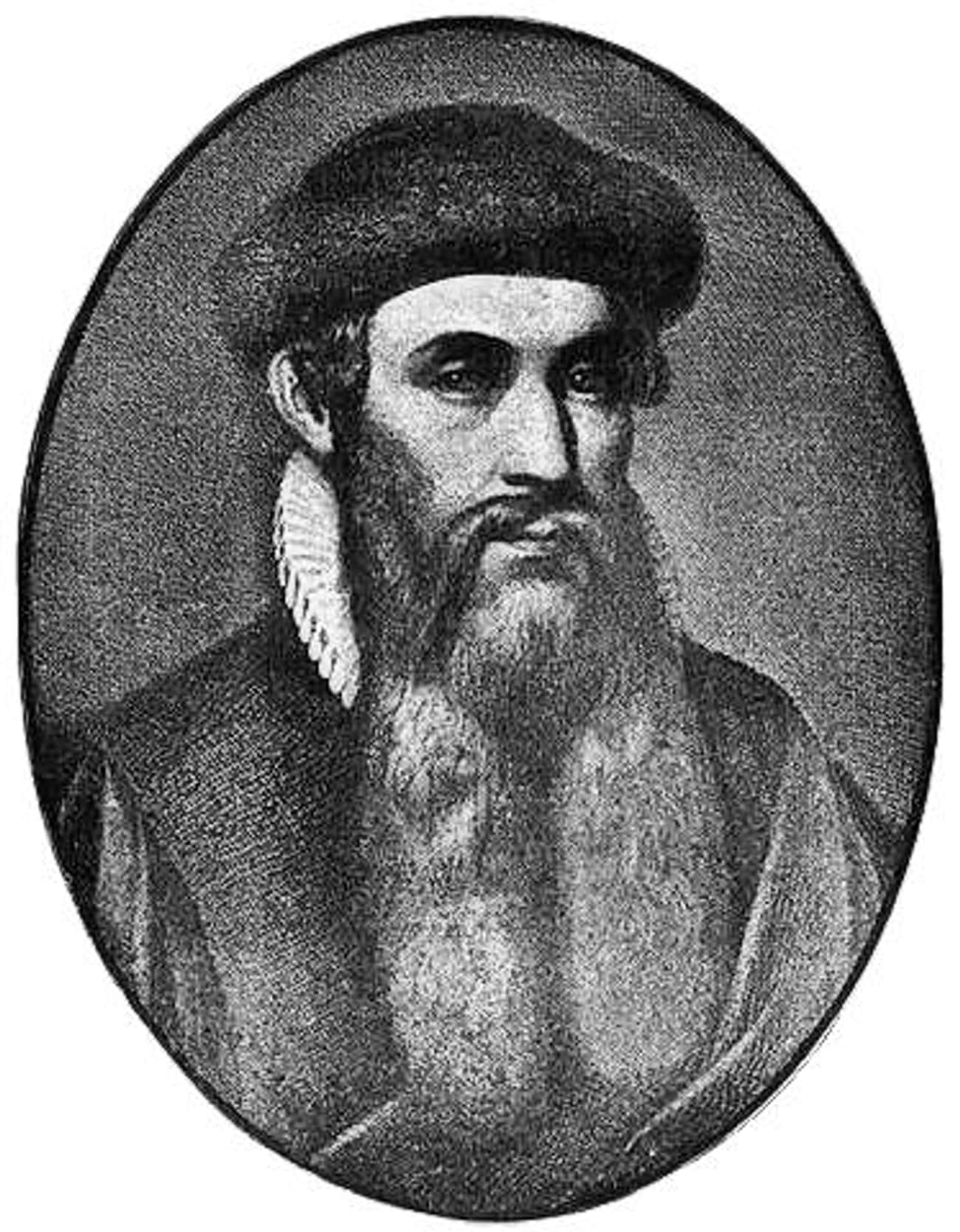Johannes Gutenberg is listed (or ranked) 2 on the list People Who Made The World A Better Place