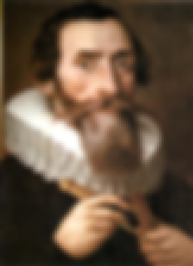 Johannes Kepler is listed (or ranked) 4 on the list Famous Mathematicians from Germany