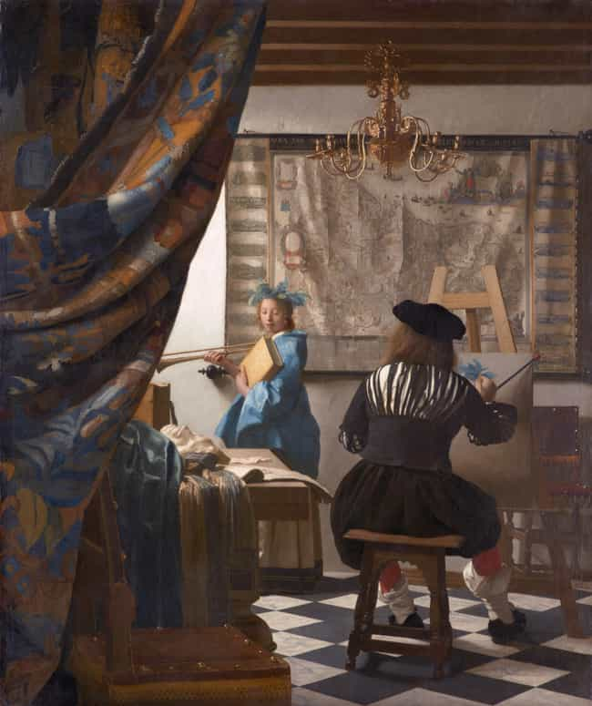 Johannes Vermeer is listed (or ranked) 1 on the list Famous Dutch Golden Age Artists