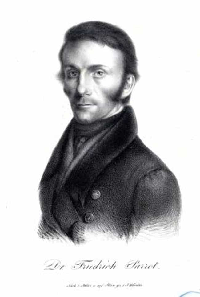 Friedrich Parrot is listed (or ranked) 6 on the list Famous Male Travellers