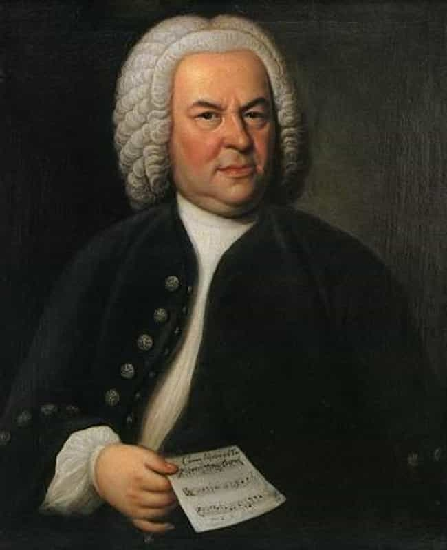 Johann Sebastian Bach is listed (or ranked) 4 on the list Famous Male Pianists