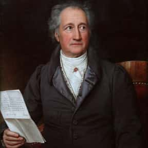 Johann Wolfgang von Goethe is listed (or ranked) 9 on the list List of Famous Poets