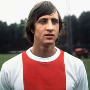 Johan Cruijff is listed (or ranked) 17 on the list The Most Influential Athletes Of All Time