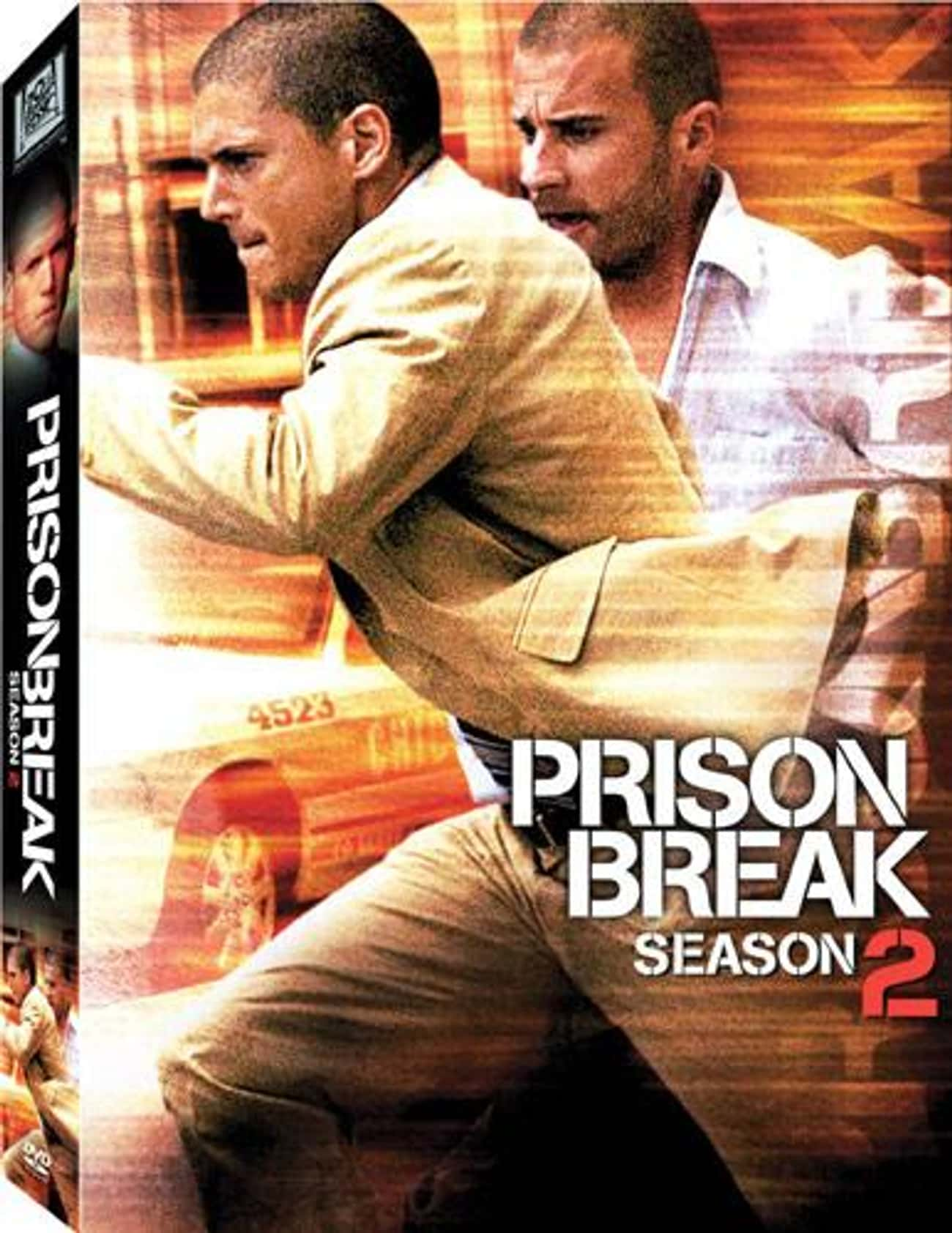 Prison Break - Season 2 is listed (or ranked) 2 on the list The Best Seasons of Prison Break