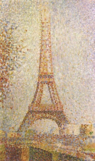 La Tour Eiffel is listed (or ranked) 2 on the list The Greatest Famous Pointillist Paintings