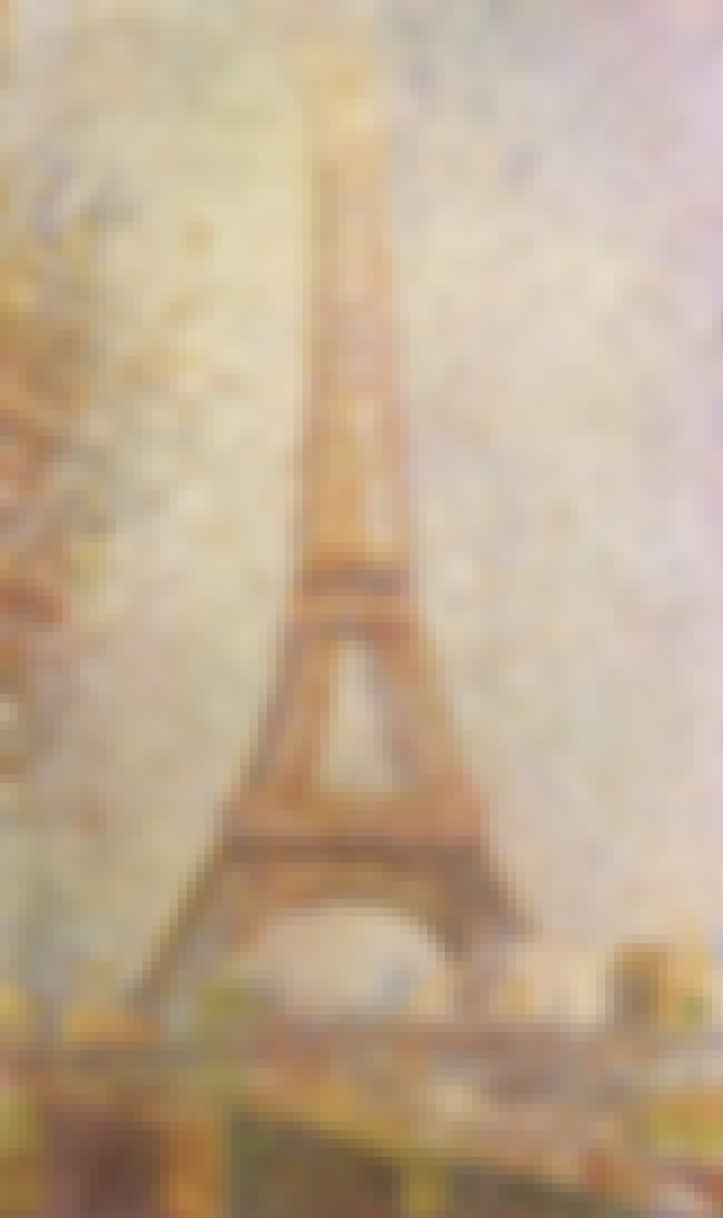 La Tour Eiffel is listed (or ranked) 6 on the list Famous Pointillism Artwork