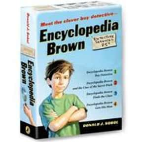 Encyclopedia Brown Box Set is listed (or ranked) 24 on the list Good Books for 9 Year Olds