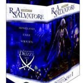 The Legend of Drizzt Boxed Set is listed (or ranked) 14 on the list The Best Fantasy Book Series