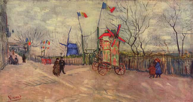 A Corner of Montmartre: The Mo... is listed (or ranked) 1 on the list Famous Vincent van Gogh Paintings