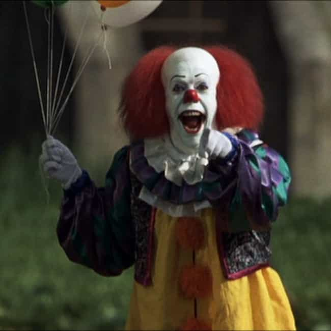 Pennywise the Dancing Clown is listed (or ranked) 1 on the list The Greatest '90s Horror Villains