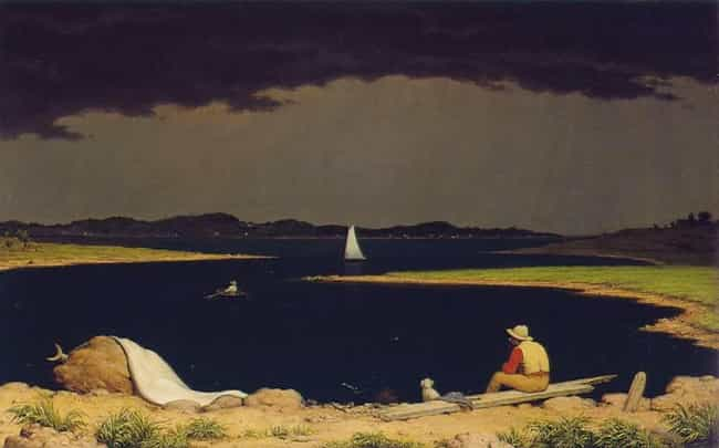 Approaching Thunder Stor... is listed (or ranked) 1 on the list Famous Landscape Arts by Martin Johnson Heade