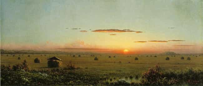 Ipswich Marshes is listed (or ranked) 3 on the list Famous Landscape Arts by Martin Johnson Heade