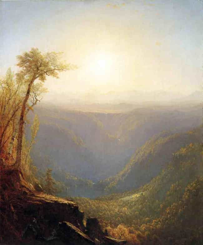 A Gorge in the Mountains... is listed (or ranked) 2 on the list List of Famous Landscape Art Paintings