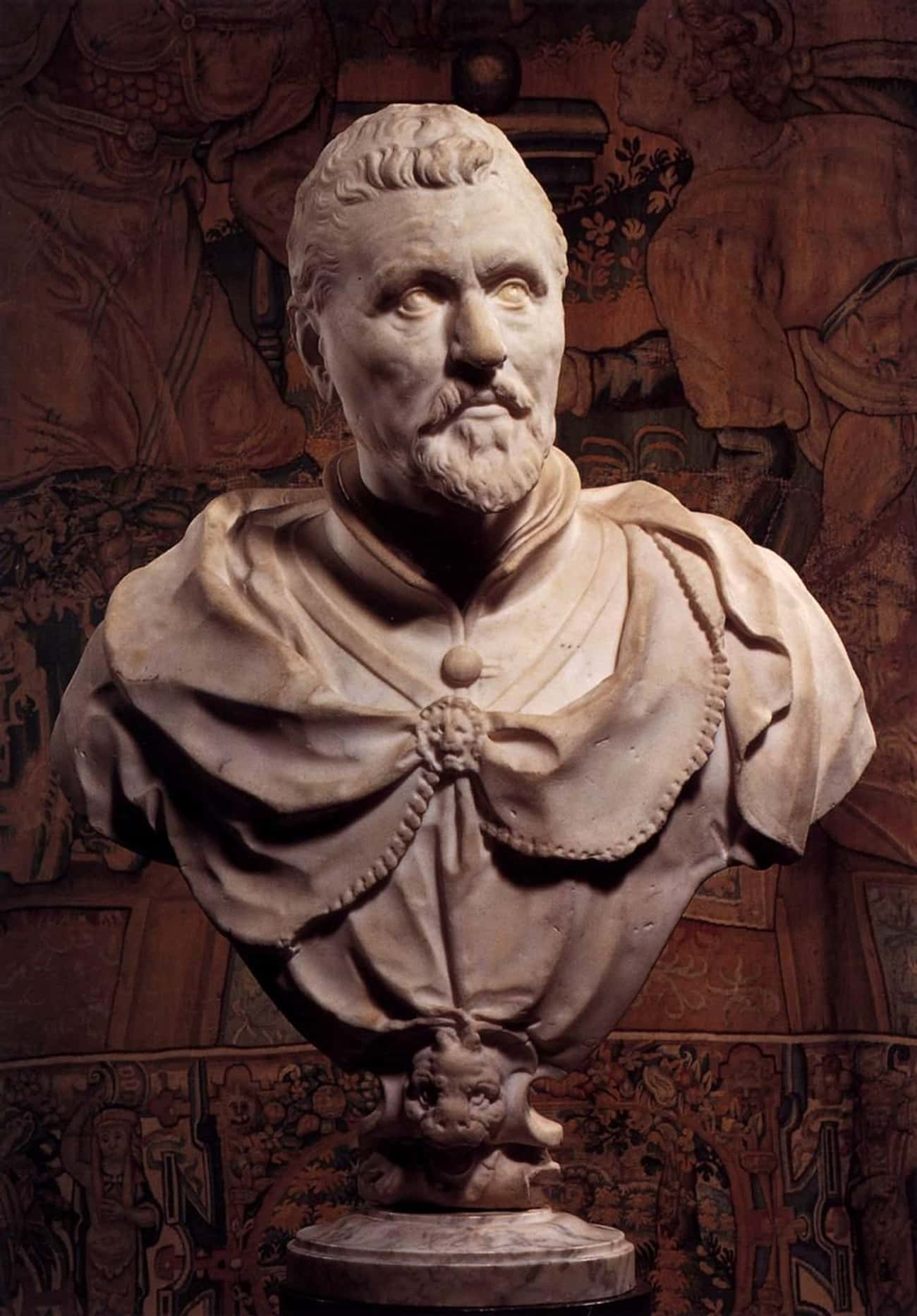 Bust of Vincent Coster