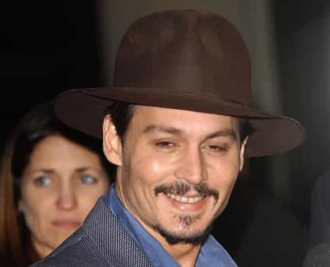 Johnny Depp is listed (or ranked) 1 on the list Celebrities with Crazy Hobbies