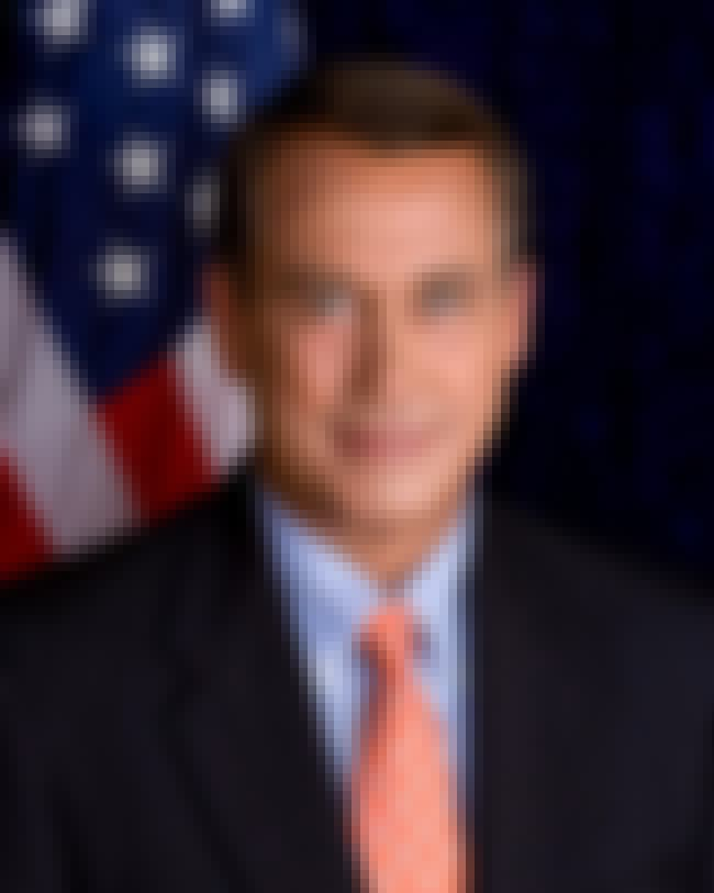 John Boehner is listed (or ranked) 4 on the list Republican Sex Scandals