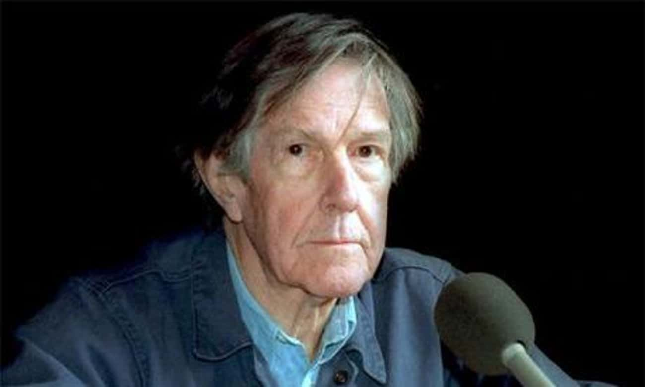 John Cage is listed (or ranked) 4 on the list Famous Male Visual Artists