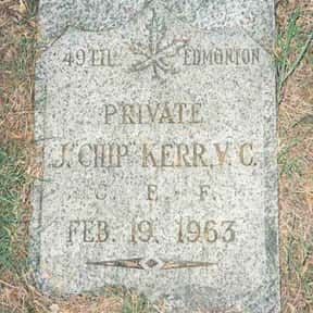 John Chipman Kerr is listed (or ranked) 6 on the list Famous People Buried in Mountain View Cemetery