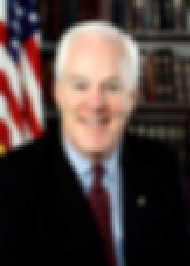 John Cornyn is listed (or ranked) 4 on the list Politicians Who Believe in Conspiracies