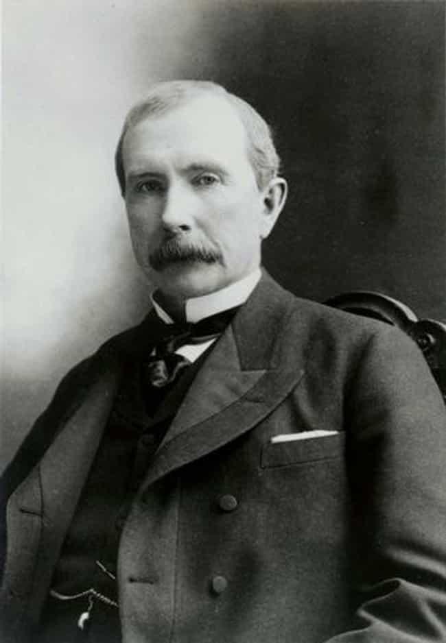 John D. Rockefeller is listed (or ranked) 2 on the list Members of the Rockefeller Family