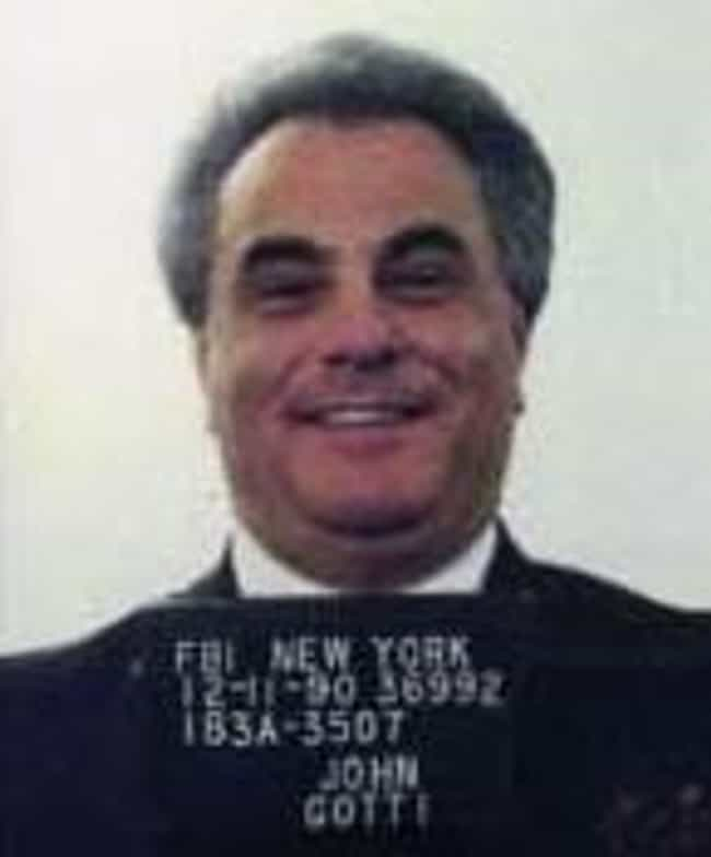 John Gotti is listed (or ranked) 3 on the list Famous Male Mafiosos
