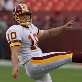 John Hall is listed (or ranked) 13 on the list The Best Washington Redskins Kickers Of All Time