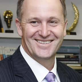 John Key is listed (or ranked) 6 on the list Famous People From New Zealand