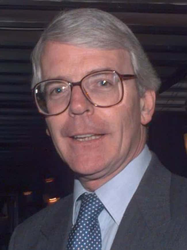 John Major is listed (or ranked) 8 on the list List of Famous Prime Ministers