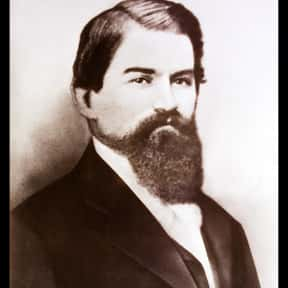 John Pemberton is listed (or ranked) 1 on the list List of Famous Pharmacists