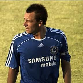 John Terry is listed (or ranked) 25 on the list List of Famous Footballers