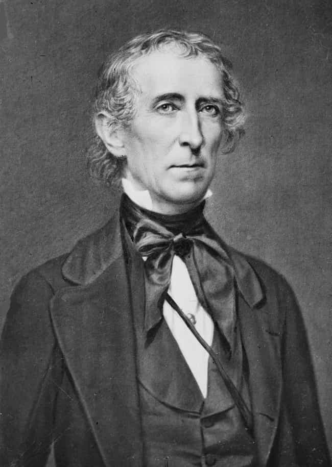John Tyler is listed (or ranked) 1 on the list U.S. Presidents Who Weren't Elected Into Office