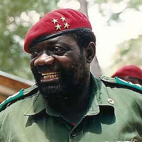 Jonas Savimbi is listed (or ranked) 12 on the list List of Famous Revolutionaries