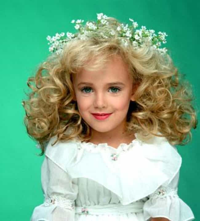 JonBenét Ramsey is listed (or ranked) 1 on the list 15 Famous Child Murder Victims That Were International News