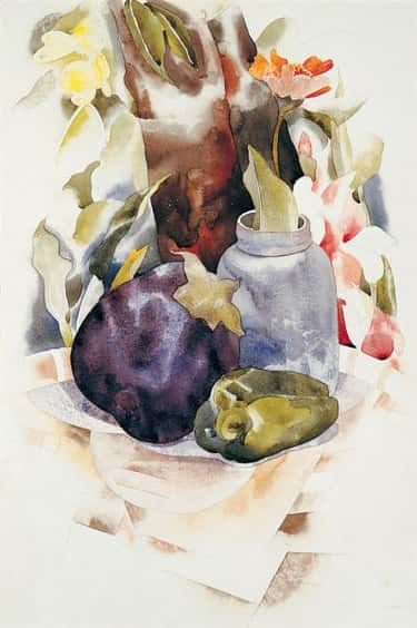Eggplant and Green Pepper is listed (or ranked) 2 on the list The Greatest Works of Famous American Modernist Art