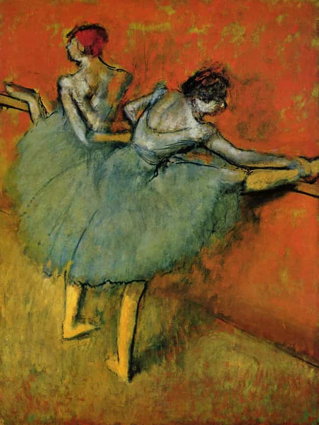 Dancers at the Bar is listed (or ranked) 8 on the list Famous Edgar Degas Paintings