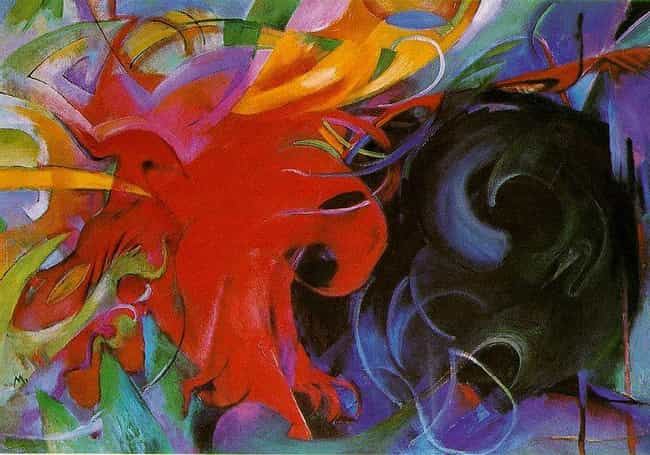 Fighting Forms is listed (or ranked) 4 on the list Famous Expressionism Artwork