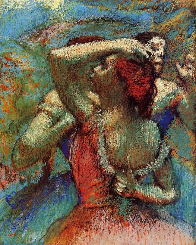 Dancers is listed (or ranked) 7 on the list Famous Edgar Degas Paintings