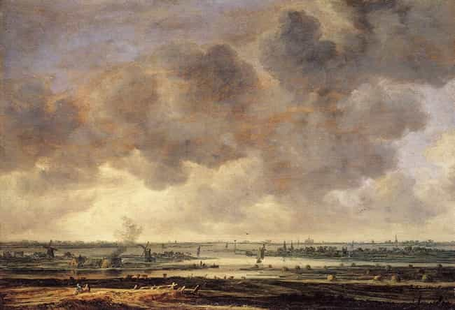 View of the Haarlemmerme... is listed (or ranked) 4 on the list Famous Jan van Goyen Paintings