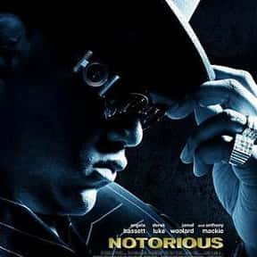 Notorious is listed (or ranked) 15 on the list The Greatest African American Biopics